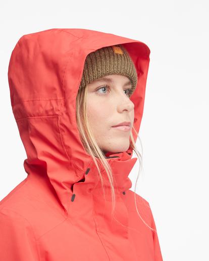 6 Passage Anorak Snow Jacket Red EBJTJ00111 Billabong