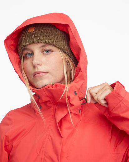 7 Passage Anorak Snow Jacket Red EBJTJ00111 Billabong