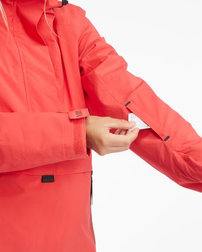 8 Passage Anorak Snow Jacket Red EBJTJ00111 Billabong