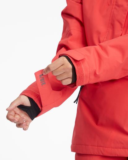 9 Passage Anorak Snow Jacket Red EBJTJ00111 Billabong