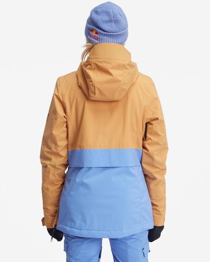 6 Passage Anorak Snow Jacket Multicolor EBJTJ00111 Billabong