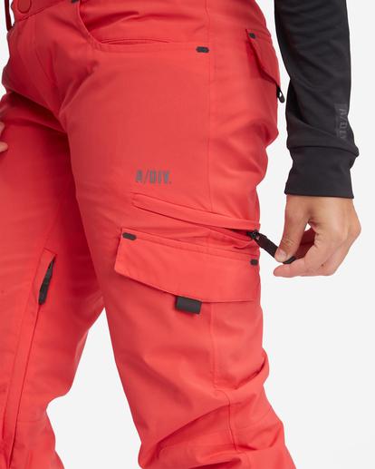 7 Nela Snow Pants Red EBJTP00100 Billabong