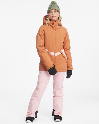 4 Malla Snow Pants White EBJTP00103 Billabong