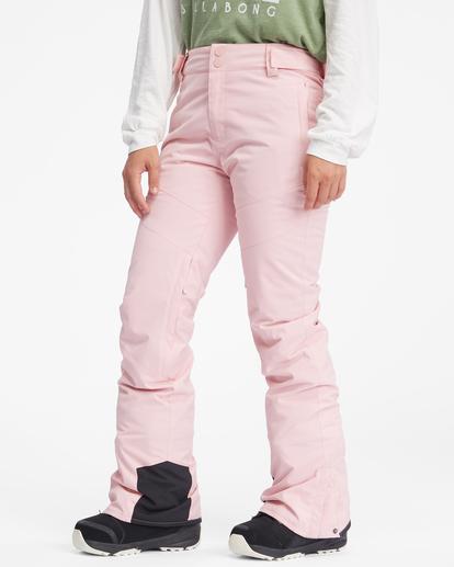 6 Malla Snow Pants White EBJTP00103 Billabong