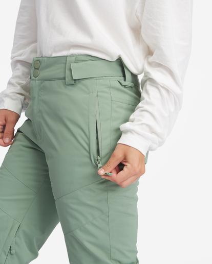8 Malla Snow Pants Green EBJTP00103 Billabong
