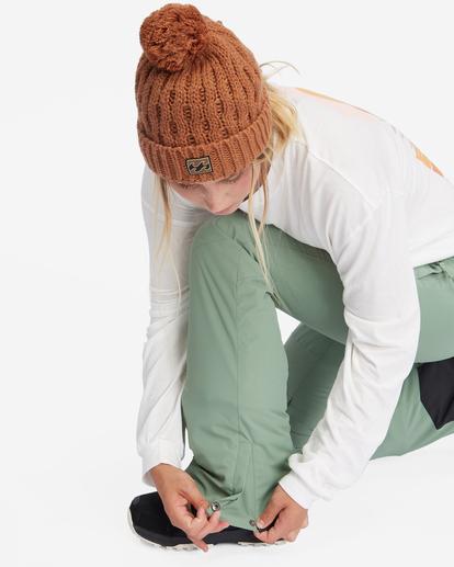 10 Malla Snow Pants Green EBJTP00103 Billabong