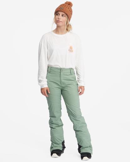 3 Malla Snow Pants Green EBJTP00103 Billabong