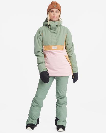 4 Malla Snow Pants Green EBJTP00103 Billabong
