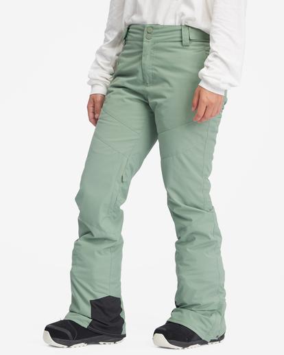 6 Malla Snow Pants Green EBJTP00103 Billabong