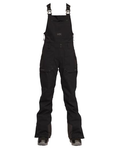 0 Drifter STX Bib Snow Pants Black EBJTP00105 Billabong
