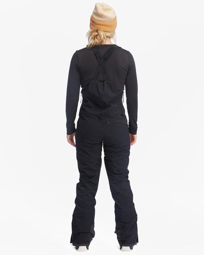4 Drifter STX Bib Snow Pants Black EBJTP00105 Billabong