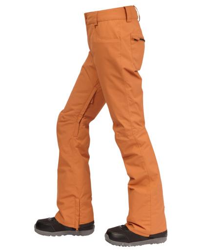 3 Terry Snow Pants Brown EBJTP00106 Billabong