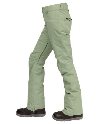2 Terry Snow Pants Green EBJTP00106 Billabong