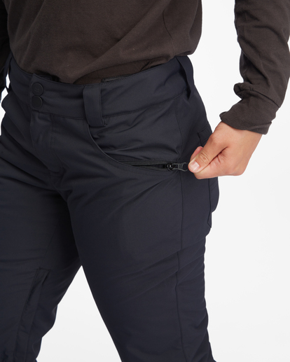 8 Terry Snow Pants Black EBJTP00106 Billabong