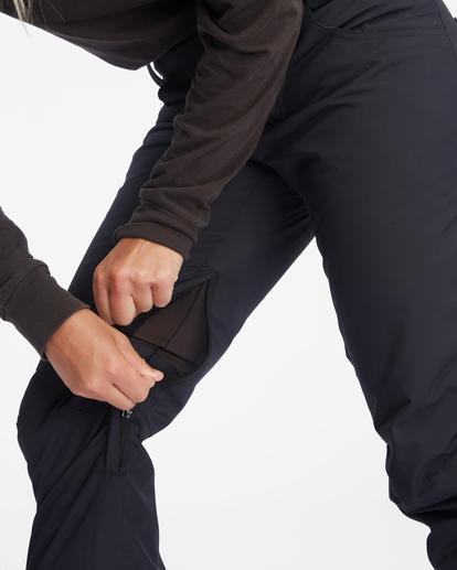 10 Terry Snow Pants Black EBJTP00106 Billabong