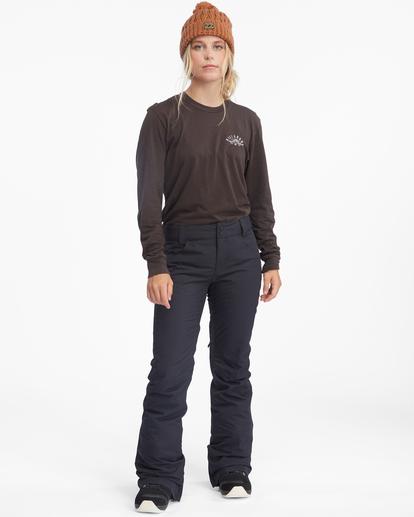 3 Terry Snow Pants Black EBJTP00106 Billabong