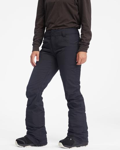 6 Terry Snow Pants Black EBJTP00106 Billabong