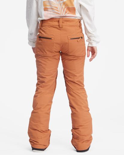 6 Terry Snow Pants Brown EBJTP00106 Billabong