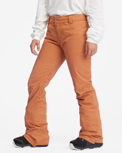 7 Terry Snow Pants Brown EBJTP00106 Billabong