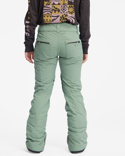 5 Terry Snow Pants Green EBJTP00106 Billabong