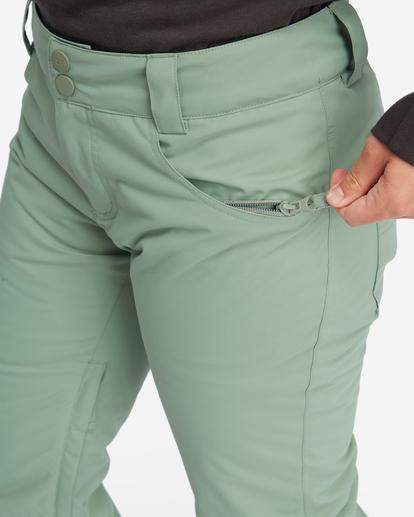 8 Terry Snow Pants Green EBJTP00106 Billabong