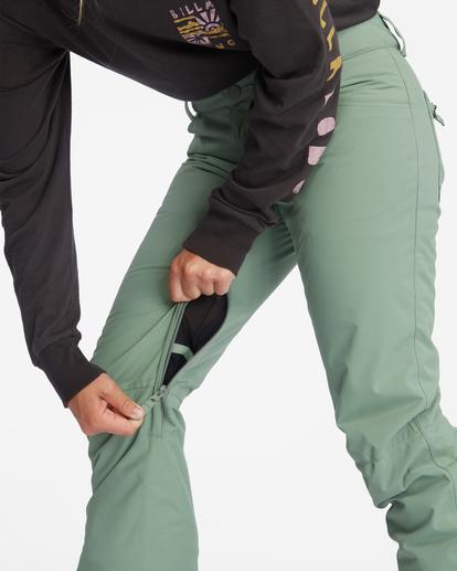 10 Terry Snow Pants Green EBJTP00106 Billabong
