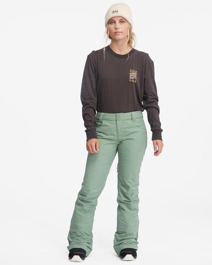 3 Terry Snow Pants Green EBJTP00106 Billabong