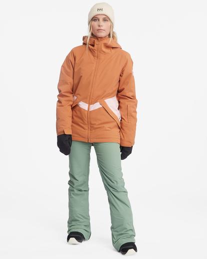4 Terry Snow Pants Green EBJTP00106 Billabong