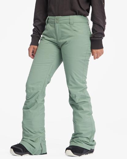 6 Terry Snow Pants Green EBJTP00106 Billabong
