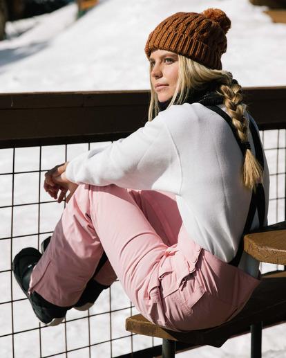 0 Riva Bib Snow Pants White EBJTP00107 Billabong