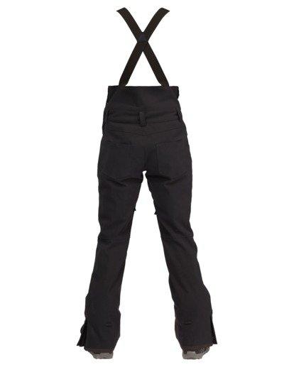 1 Riva Bib Snow Pants Black EBJTP00107 Billabong