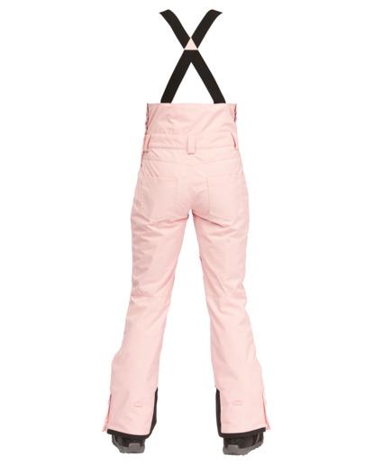 2 Riva Bib Snow Pants White EBJTP00107 Billabong