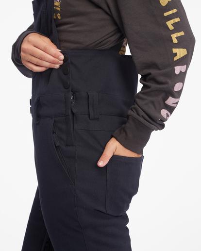 9 Riva Bib Snow Pants Black EBJTP00107 Billabong
