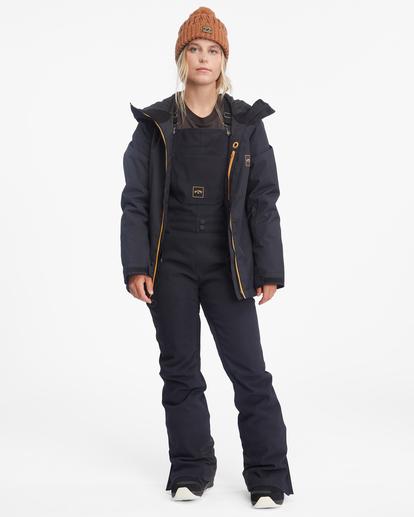 3 Riva Bib Snow Pants Black EBJTP00107 Billabong