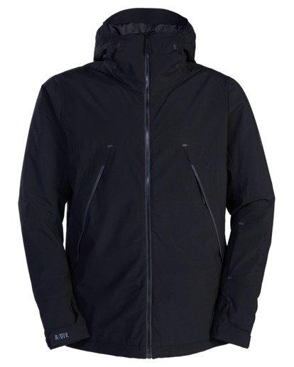 8 A/Div Expedition Snow Jacket Black EBYTJ00107 Billabong