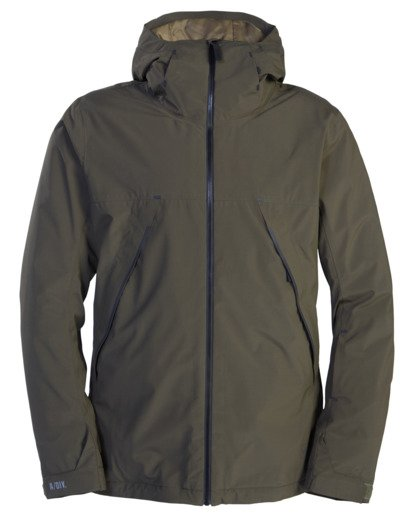 8 A/Div Expedition Snow Jacket Green EBYTJ00107 Billabong