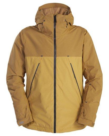 8 A/Div Expedition Snow Jacket White EBYTJ00107 Billabong