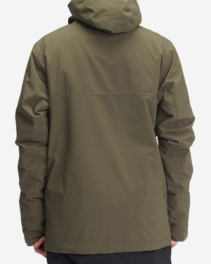 2 A/Div Expedition Snow Jacket Green EBYTJ00107 Billabong