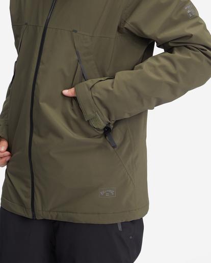 7 A/Div Expedition Snow Jacket Green EBYTJ00107 Billabong