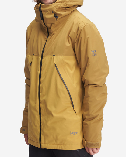 1 A/Div Expedition Snow Jacket White EBYTJ00107 Billabong