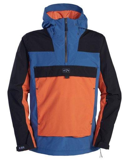 8 A/Div Quest Hooded Snow Jacket Multicolor EBYTJ00108 Billabong
