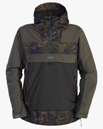 8 A/Div Quest Hooded Snow Jacket Black EBYTJ00108 Billabong