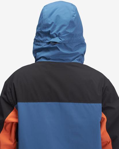 3 A/Div Quest Hooded Snow Jacket Multicolor EBYTJ00108 Billabong