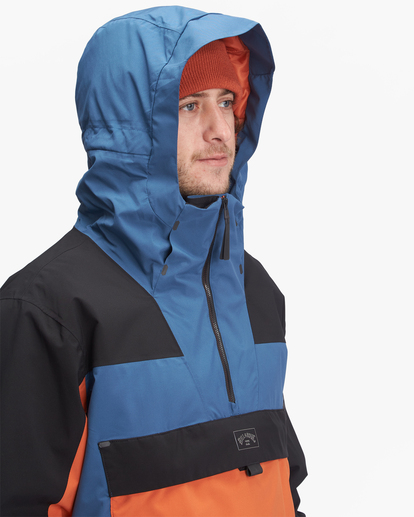4 A/Div Quest Hooded Snow Jacket Multicolor EBYTJ00108 Billabong