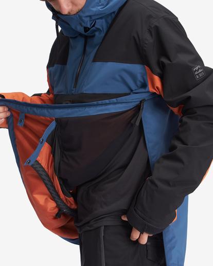 5 A/Div Quest Hooded Snow Jacket Multicolor EBYTJ00108 Billabong