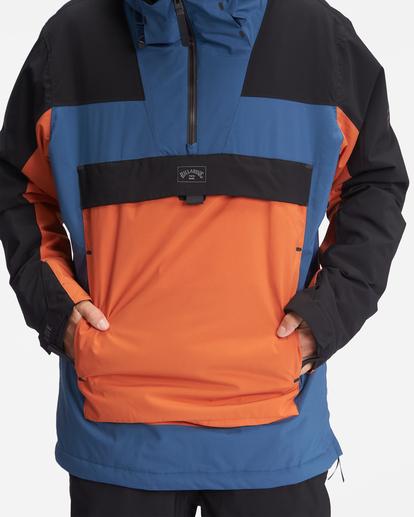 6 A/Div Quest Hooded Snow Jacket Multicolor EBYTJ00108 Billabong