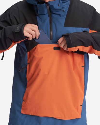 7 A/Div Quest Hooded Snow Jacket Multicolor EBYTJ00108 Billabong