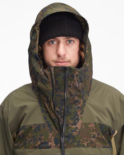 5 A/Div Quest Hooded Snow Jacket Black EBYTJ00108 Billabong
