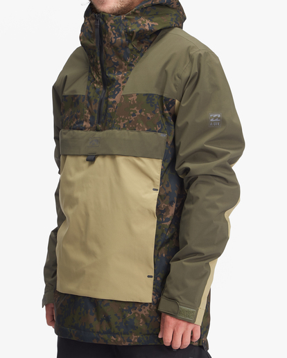 1 A/Div Quest Hooded Snow Jacket Black EBYTJ00108 Billabong