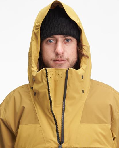 5 A/Div Quest Hooded Snow Jacket White EBYTJ00108 Billabong